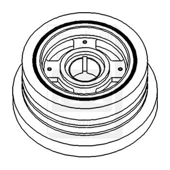 UT1126 Crankshaft Pulley Dampener Replaces 683459C94 11931