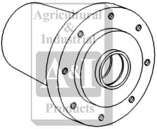 UA10199 Wheel Hub 8 Bolt Replaces 72160484 30 3156729 40