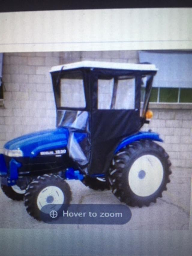 New Holland Compact Tractor Hard Top Cab